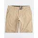 VOLCOM Frickin' Surf N' Turf Static Dark Khaki Mens Hybrid Shorts
