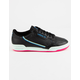 ADIDAS Continental 80 Core Black & Hi-Res Yellow Womens Shoes