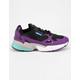 ADIDAS Falcon Core Black & Active Purple Womens Shoes