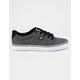 DC SHOES Anvil TX SE Black Resin Mens Shoes