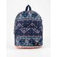ROXY Always Core Blue Newport Border Mini Backpack
