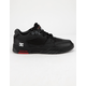 DC SHOES Maswell Black & True Red Mens Shoes