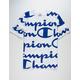 CHAMPION Allover Champion Script Navy & White Mens T-Shirt