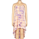FULL TILT Tie Dye Button Placket Girls Hi Low Dress