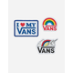 VANS 3 Pack Love Patches