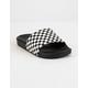 VANS Checkerboard Boys Slide Sandals