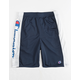 CHAMPION Heritage Script Navy Boys Shorts