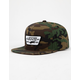 VANS Full Patch Classic Camo Mens Snapback Hat