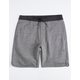 VISSLA Cabin Fever Charcoal Mens Sweat Shorts