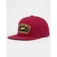 VANS Trask Rhumba Red Mens Snapback Hat