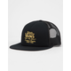 VANS Galer Black Mens Trucker Hat