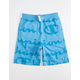 CHAMPION Giant Script Blue Boys Sweat Shorts