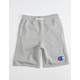 CHAMPION French Terry Heather Gray Boys Sweat Shorts