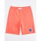 CHAMPION French Terry Papaya Boys Sweat Shorts