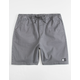 LIRA Forever Volley 2.0 Charcoal Mens Volley Shorts