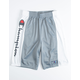 CHAMPION Heritage Script Gray Boys Shorts
