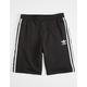 ADIDAS 3 Stripes Boys Sweat Shorts