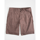 HURLEY Dri-FIT Breathe Dark Brown Mens Shorts
