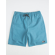 LIRA Forever Volley 2.0 Storm Blue Mens Volley Shorts
