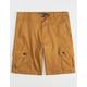 BROOKLYN CLOTH Camel Mens Cargo Shorts
