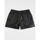 CHAMPION Nylon Black Mens Sweat Shorts