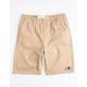 LIRA Charger 2 Khaki Boys Volley Shorts