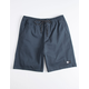 LIRA Forever Volley 2.0 Slate Blue Mens Volley Shorts