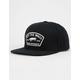 VANS Trask Black Mens Snapback Hat
