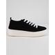 STEVE MADDEN Bardo Black Womens Platform Shoes