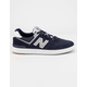 NEW BALANCE AM574 Navy With White Mens Shoes
