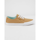 ETNIES Jameson Vulc LS Tan & White Mens Shoes