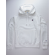 CHAMPION Reverse Weave White Mens Hoodie