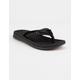 VOLCOM Drafted Recliner Black Mens Sandals
