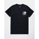 NEON RIOT Dark Skull Mens T-Shirt