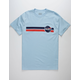 RSQ Nasty Space Light Blue Mens T-Shirt