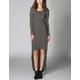 FULL TILT Striped Hi Low Maxi Dress