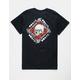 NEON RIOT Savage Roses Mens T-Shirt