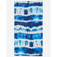 SLOWTIDE Indigo Sun Beach Towel