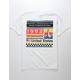 NEON RIOT NASA Space Pack White Mens T-Shirt