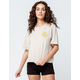 O'NEILL Sunny Side Cream Womens Crop Tee