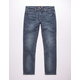 RSQ London Skinny Medium Wash Mens Vintage Flex Jeans
