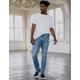 RSQ Toronto Slim Taper Medium Vintage Mens Vintage Flex Jeans