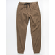 CHARLES AND A HALF Dirt Mens Twill Jogger Pants