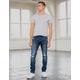 RSQ Seattle Skinny Taper Dark Vintage Mens Vintage Flex Ripped Jeans