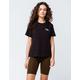 BOZZOLO Olive Womens Biker Shorts