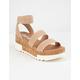 STEVE MADDEN Bandi Blush Flatform Sandals