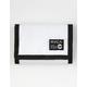 RVCA ANP White Velcro Wallet