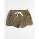 BILLABONG Mad For You Olive Girls Shorts