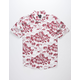 SHOUTHOUSE Classic Floral Mens Shirt