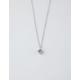 FULL TILT Single Rhinestone Silver Necklace